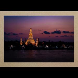 Tempel bei Nacht BKK