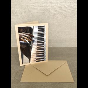 Vorderseite-Klavierspieler