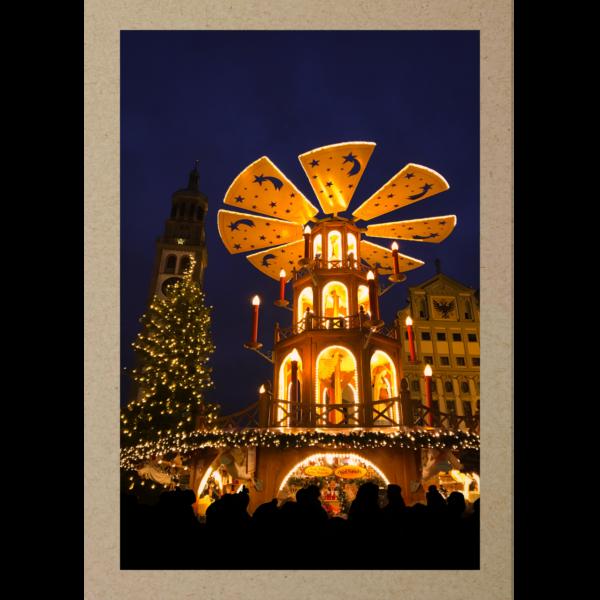 Weihnachtspyramide Augsburg